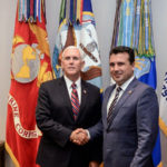 Macedonian Prime Minister paid an official visit to the United States