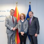 Macedonian Ministers Dimitrov and Sekerinska visited EU